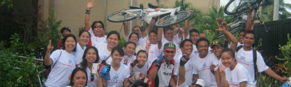"CKWD organize ""Bike for Health"" Race"