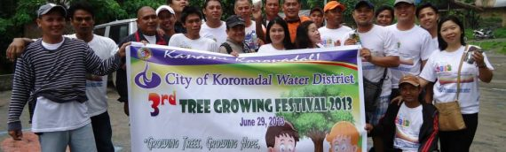 CKWD joins Tree Planting